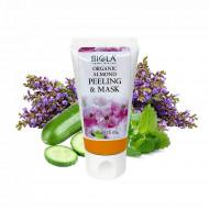 Organic Almond Peeling & Mask  (Dermatologically Tested) - 50 ml