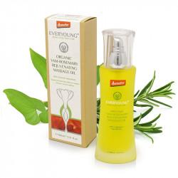 Yam-Rosemary Rejuvenating Massage Oil (90%+ Demeter) - 100 ml