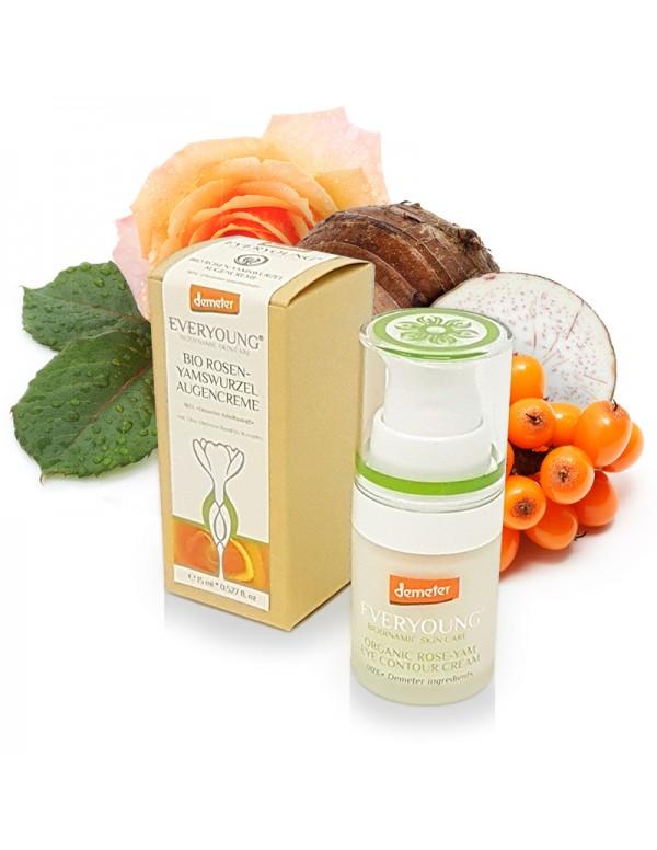 Rose-Yam Eye Contour Cream (90%+ Demeter) - 15 ml