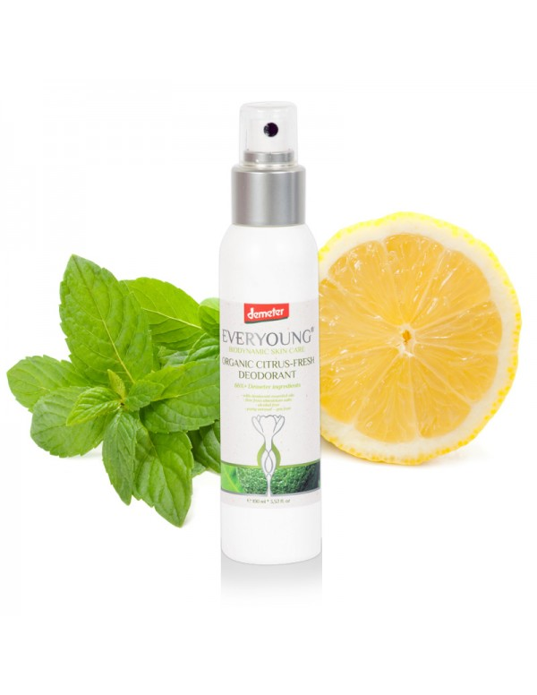 Citrus-Fresh Deodorant (66%+ Demeter) Natural Spray - 100 ml