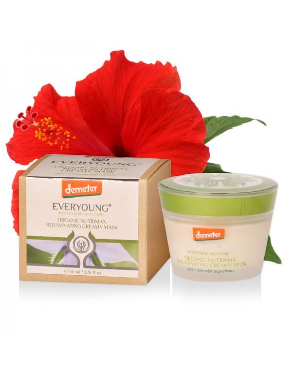Organic Nutrimax Rejuvenating Creamy Mask (66%+ Demeter) - 50 ml