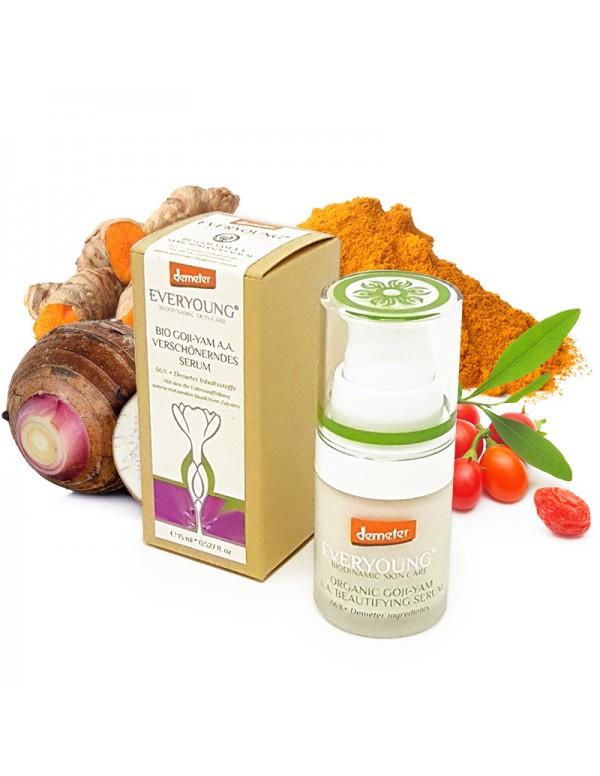 Organic Goji-Yam A. A. Beautifying Serum (66%+ Demeter) - 15 ml