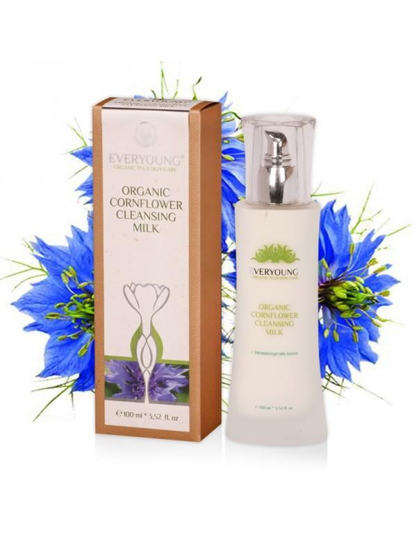 Organic Cornflower Cleansing Milk (dermatologically tested) - 100 ml