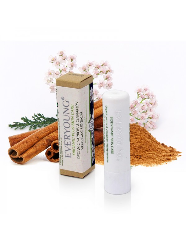 Yarrow & Cinnamon Vitality Lip Balm - 5,3 g