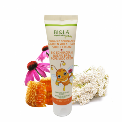 Organic Echinacea & Greenwheat Baby Shield Cre...
