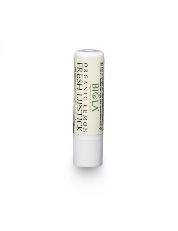 Organic Lemon Fresh Lipstick - 5,3 g