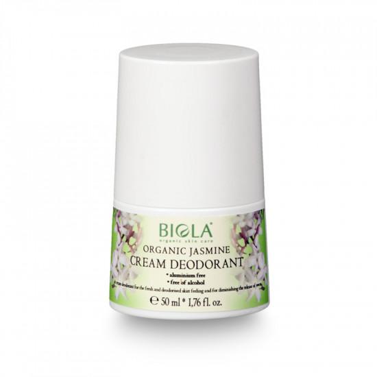 Organic Jasmine  Cream  Deodorant (Dermatologically Tested) - 50 ml