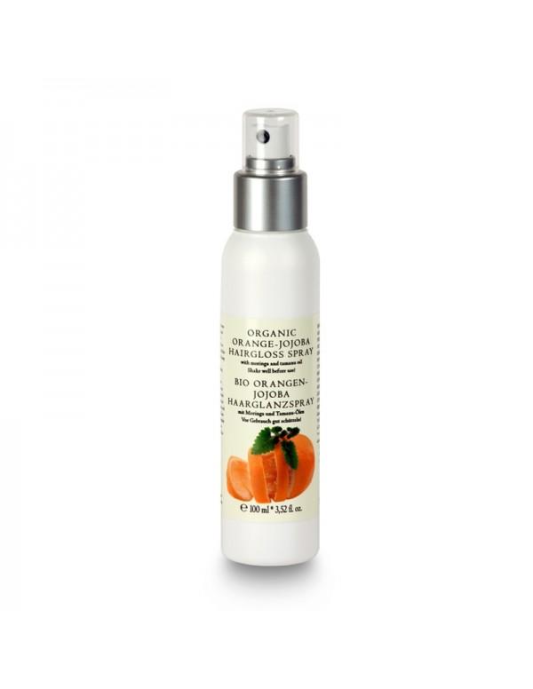 Organic Orange-Jojoba Hairgloss Spray - 100 ml
