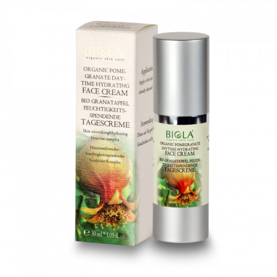 Organic Pomegranate Daytime Hydrating Face Cream - 30 ml