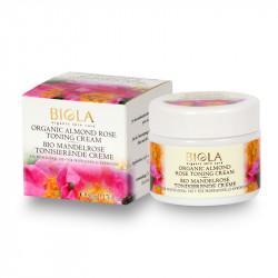 Organic Almond Rose Toning Cream  - 50 ml