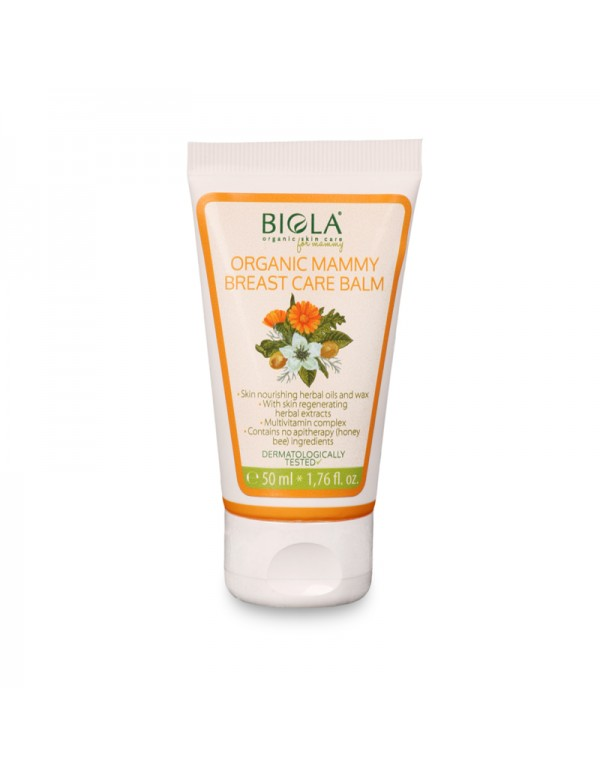 Organic Mammy Breast Care Balm (dermatologically tested) - 50 ml