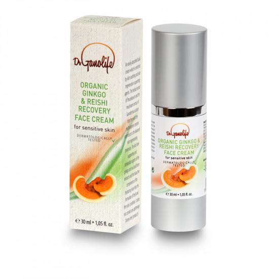 Organic Ginkgo & Reishi Recovery Face Cream (dermatologically tested) - 30 ml