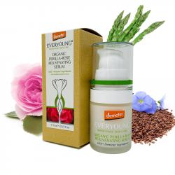 Organic Perilla-Rose Rejuvenating Serum (66%+ Deme...