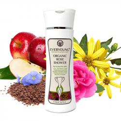 Organic Rose Shower (Dermatologically Tested) - 15...