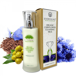 Organic Cornflower Cleansing Milk (dermatologicall...