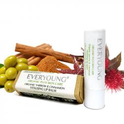 Organic Yarrow & Cinnamon Vitality Lip Balm - ...