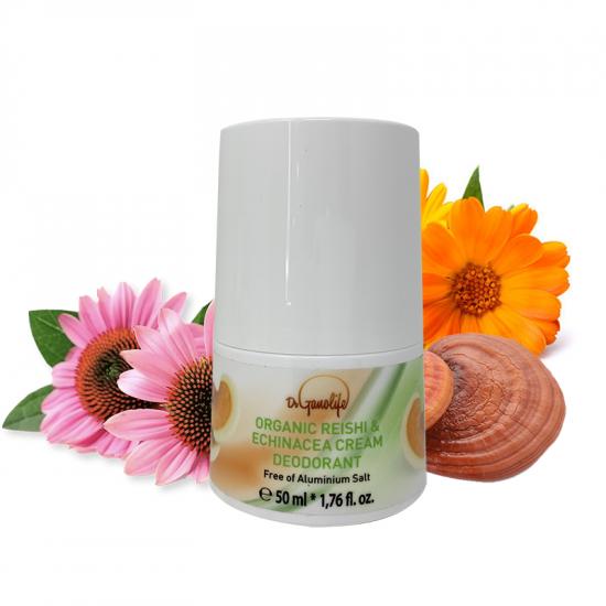 Organic Reishi & Echinacea Cream Deodorant - 50 ml